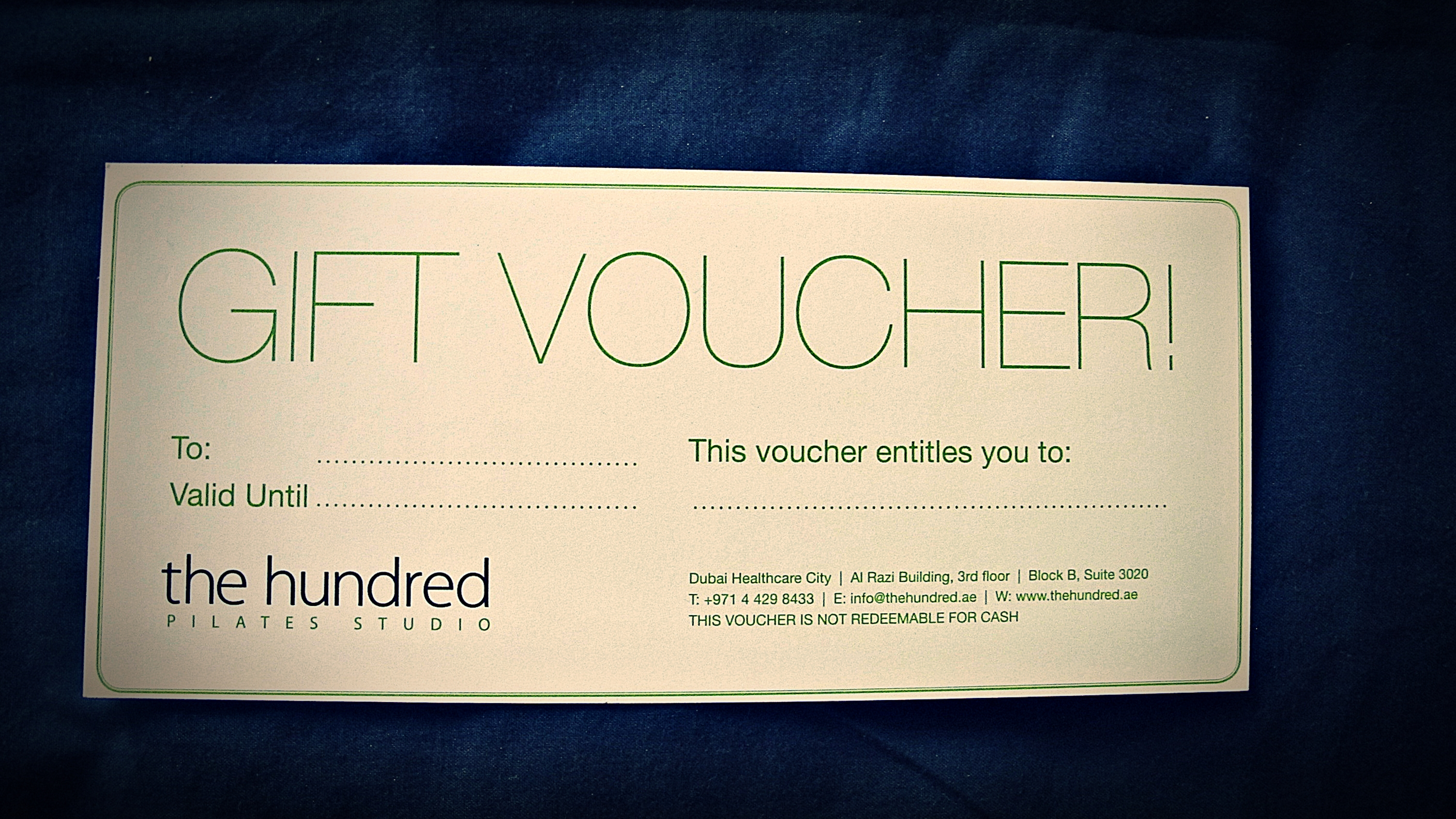 surprise your loved ones with a pilates gift voucher | The Hundred ...