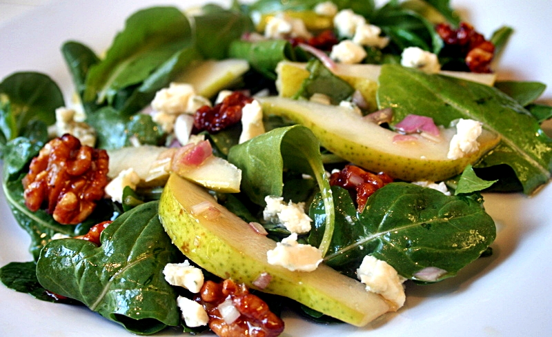 Pear, Feta & Pecan Salad ~ Inspired by Becky Hart
