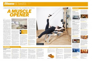 Gyrotonic Review by Kara Martin  Sport 360, June 2013-page-001