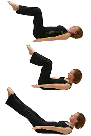 The Hundred . The infamous exercise which gets your breath and your blood moving. In addition, it is an excellent exercise for increasing torso stability and abdominal strength.