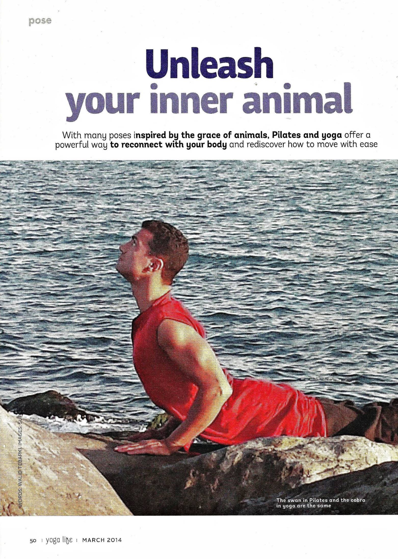 YOGALIFE ME MAGAZINE, MARCH 2014 , PG1