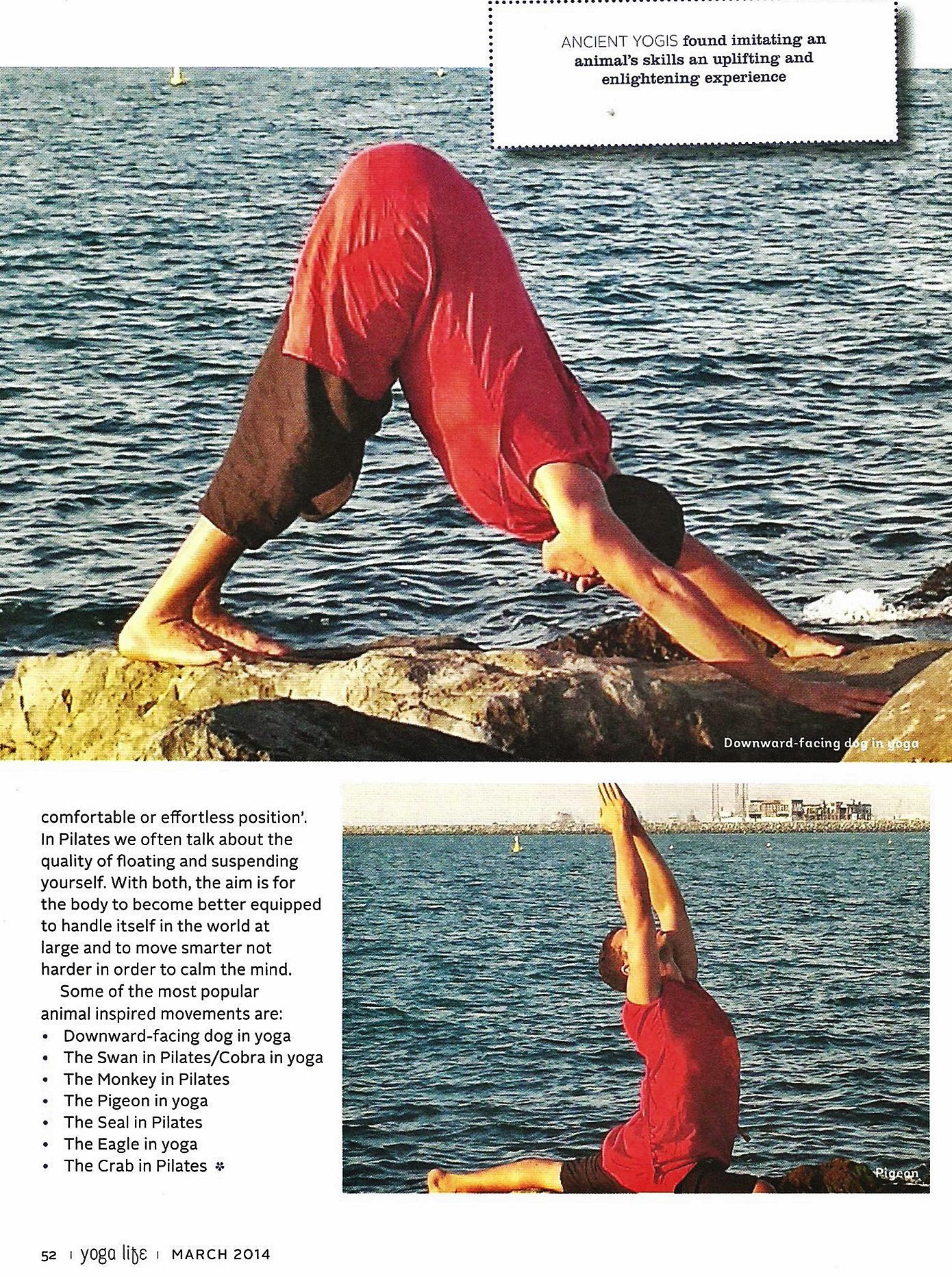 YOGALIFE ME MAGAZINE, MARCH 2014 , PG3