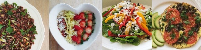 4 Healthy Recipes