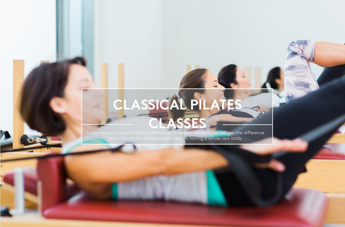 Classical pilates classes at The Hundred Wellness Center