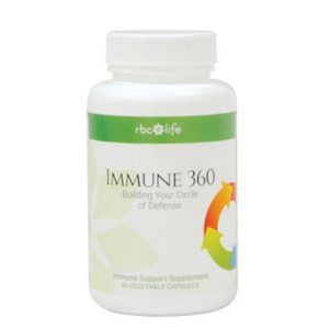 Immune 360 supplement from The Hundred Wellness Centre